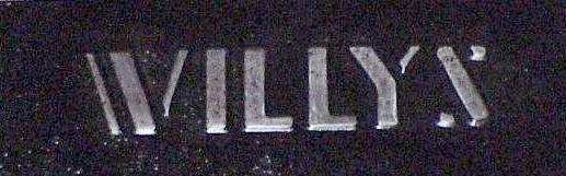 Wheel Well Tool Box >> Willys Logos